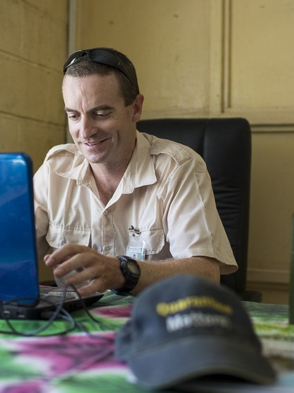 Duncan Snedden is in Kiribati working in a biosecurity role at the Ministry of Agriculture